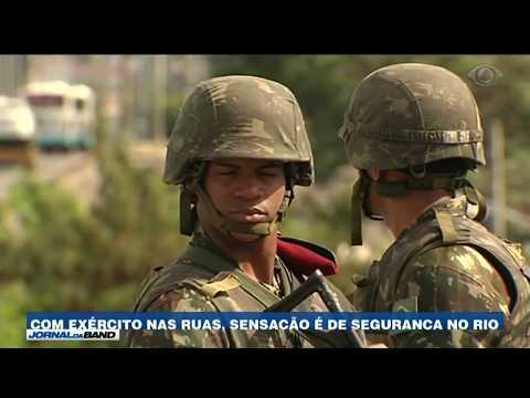 RJ: Moradores sentem mais segurança com Exército nas ruas
