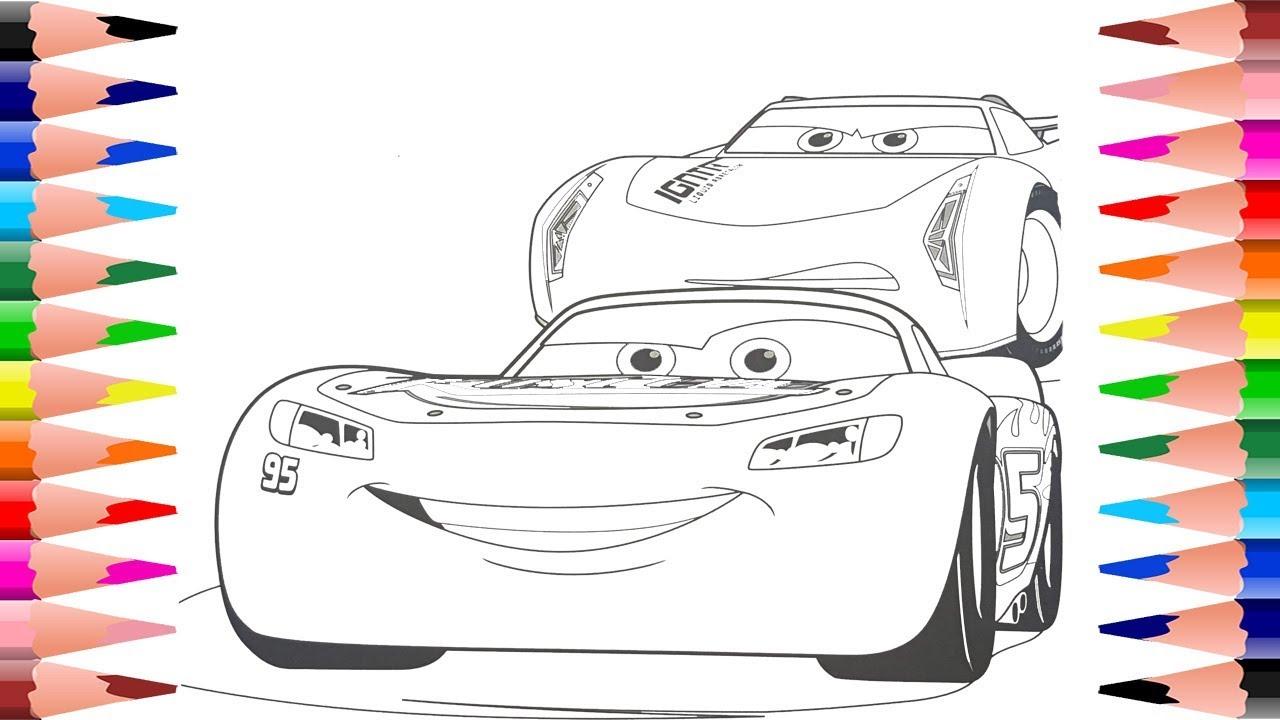 √ scarica gratis cars jackson storm disegni da colorare