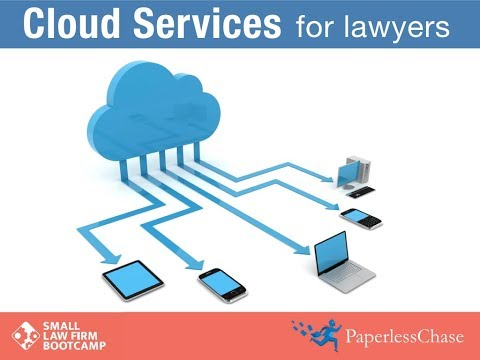 Cloud Services for Lawyers