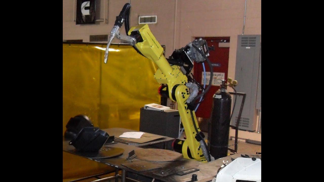 How To Program A Welding Robot Youtube Mig Welder Parts Panasonic Torch