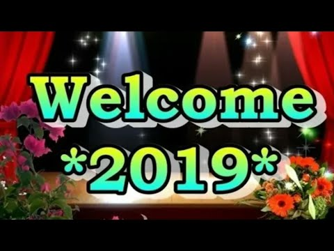 Happy New Year Advance 2019 / Happy New Year Special Video / Naya Saal Ka Pehla Jaam Aapke Naam