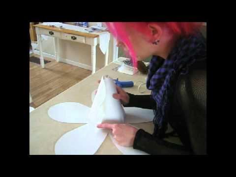 comment fabriquer une rose géante: le tutorial - youtube