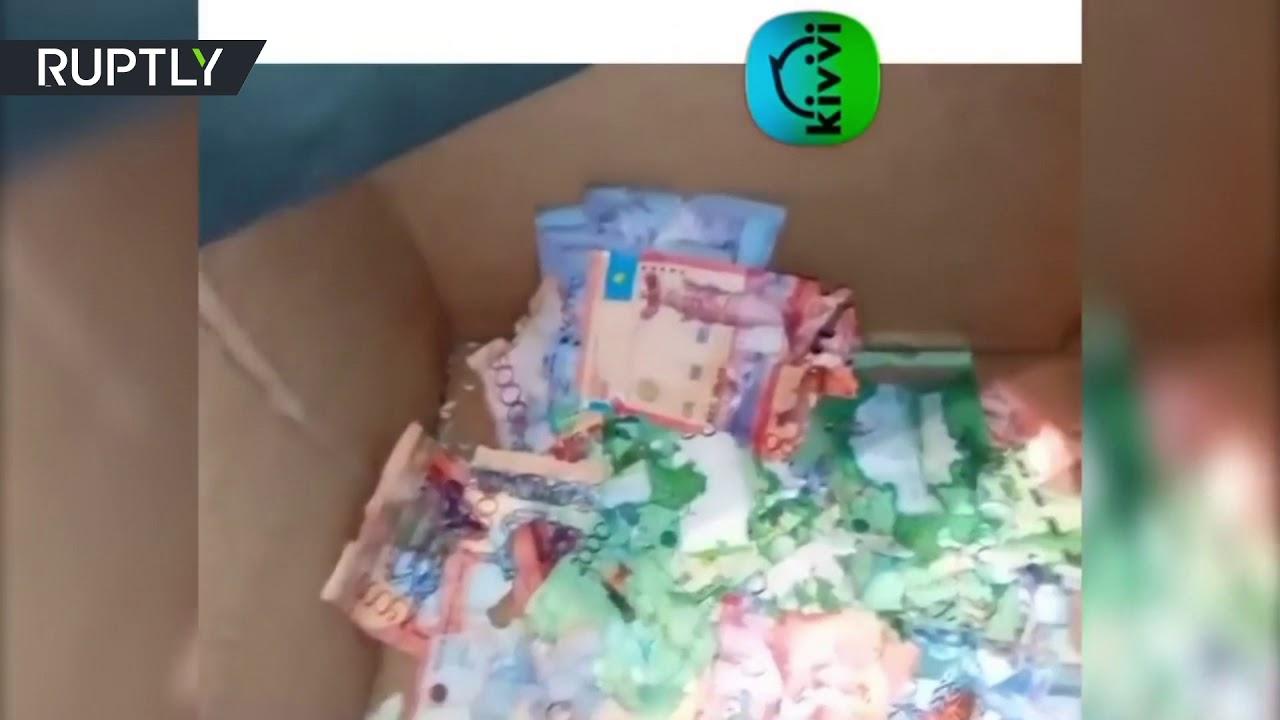 Mice chew through cash in Kazakh ATM (VIDEO) — RT World News