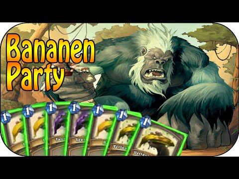 Hearthstone - Kartenchaos - Bananen Party
