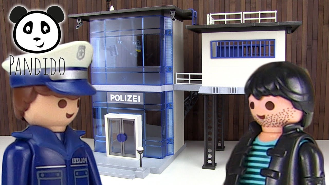 Playmobil Polizei Polizeistation Mit Alarmanlage Pandido Tv