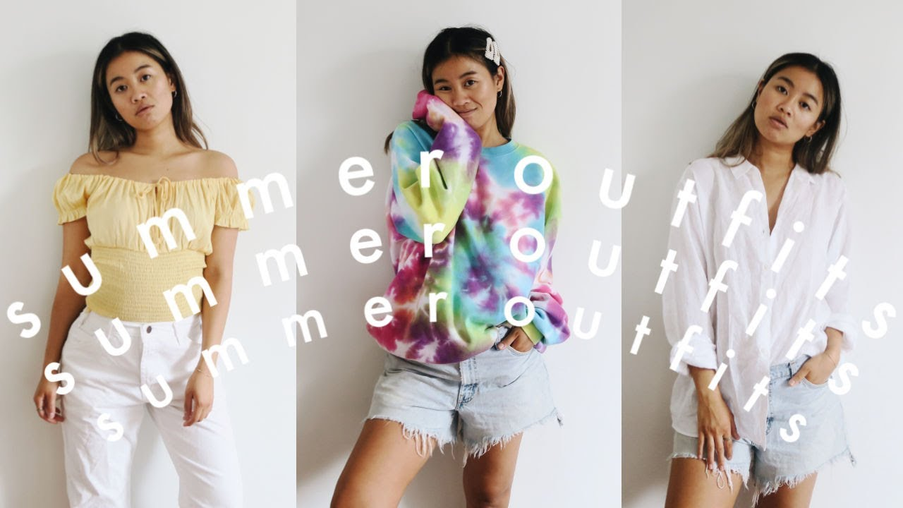 [VIDEO] - 5 GO-TO SUMMER OUTFITS | style essentials 6
