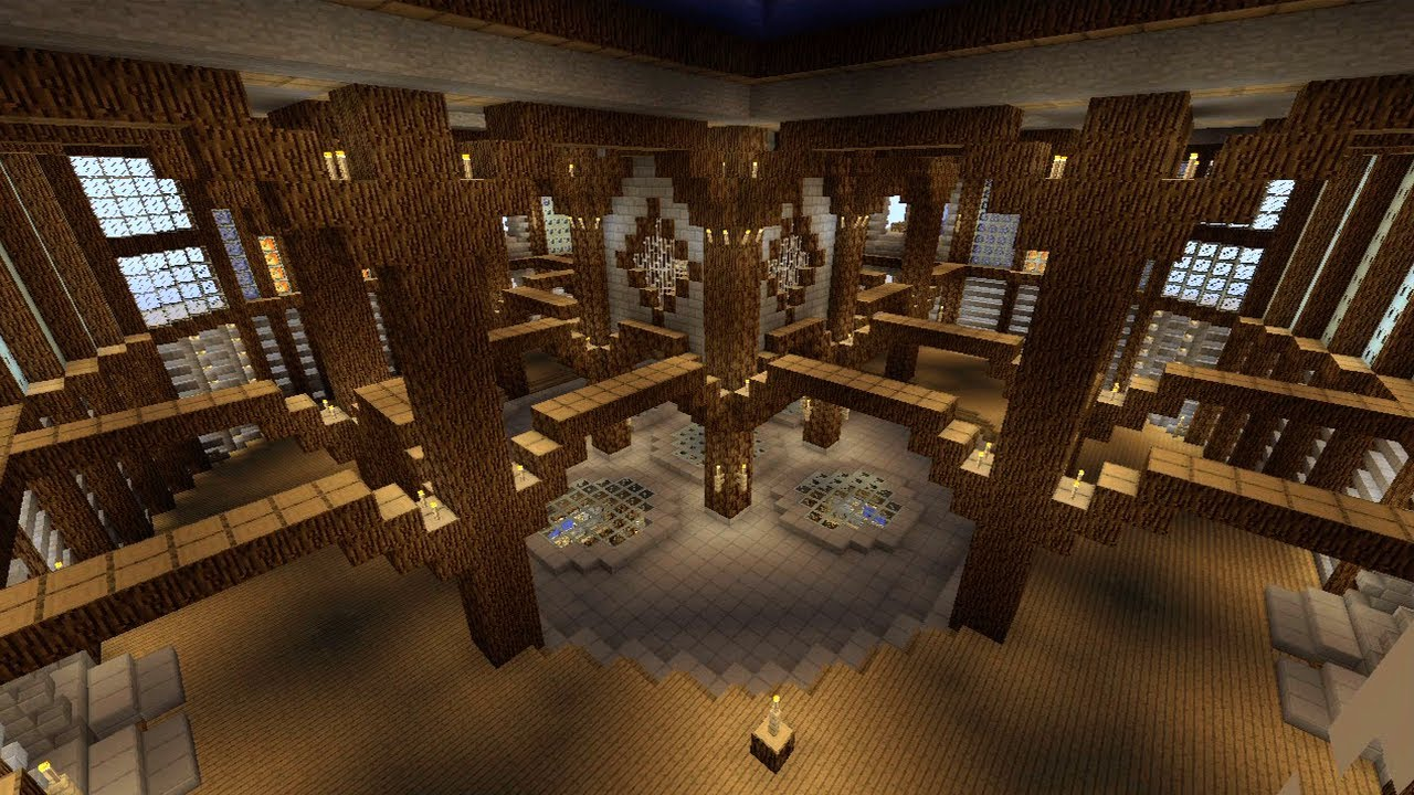Minecraft House Designs Inside