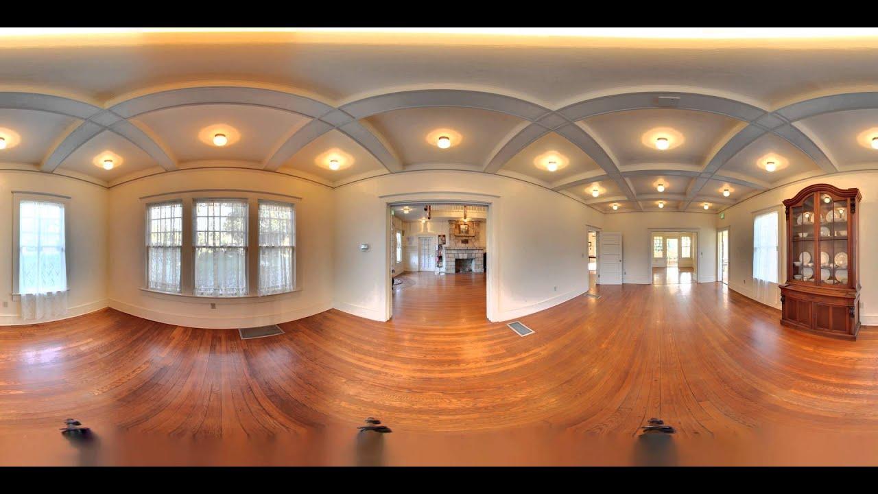 Porcher House 360 Virtual Tour 4k Youtube
