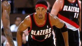 【NBA】万能選手からスコアラーへ。ブレイザーズ時代は積極的に得点していた。【ピッペン】 スコッティジェームス 検索動画 28