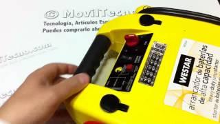 Arrancador Bateria portátil alta capacidad en MovilTecno.com