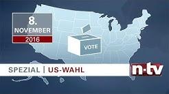 Der US-Wahlkampf bei n-tv: So funktioniert die Wahl zum Präsidenten