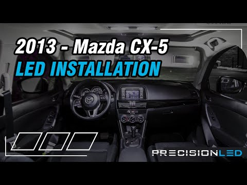 Mazda CX-5 LED Interior How To Install – 2013-Present