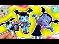 Baby Vampirina LOL SURPRISE Doll Custom Tutorial ♥ DIY LOL Dolls Videos Disney Jr
