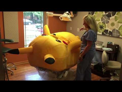 Pikachu visits the dentist!