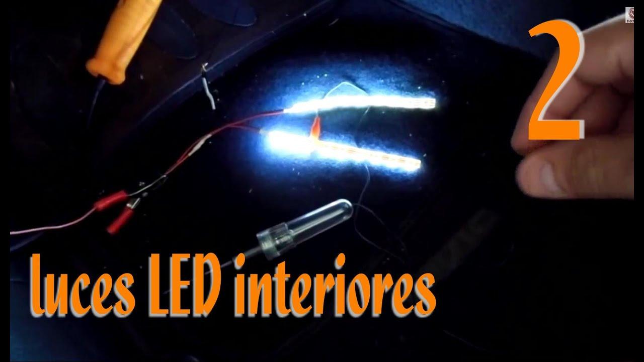 Instalaci n de luces led interiores en el auto a detalle - Luces led tiras ...