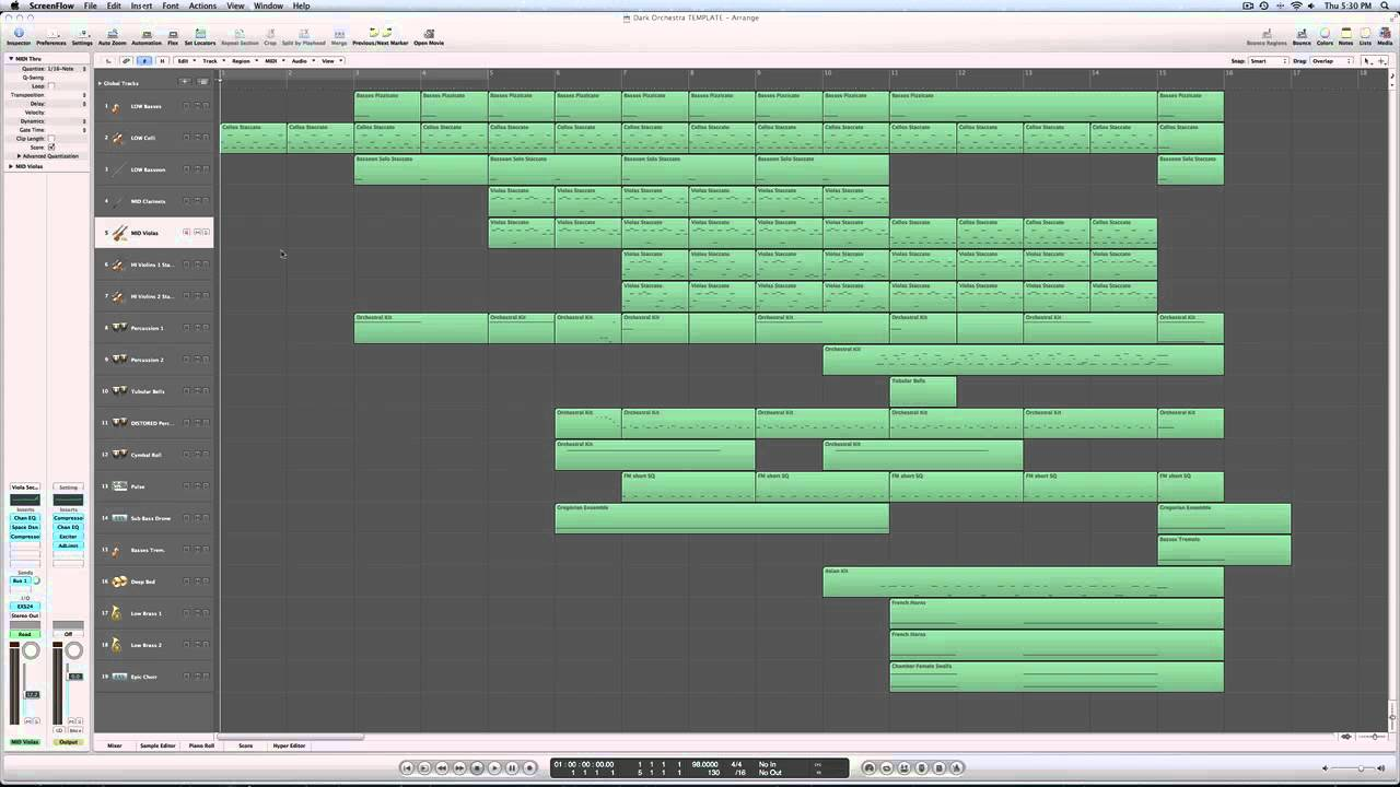 Free Logic Pro 9 Template Download