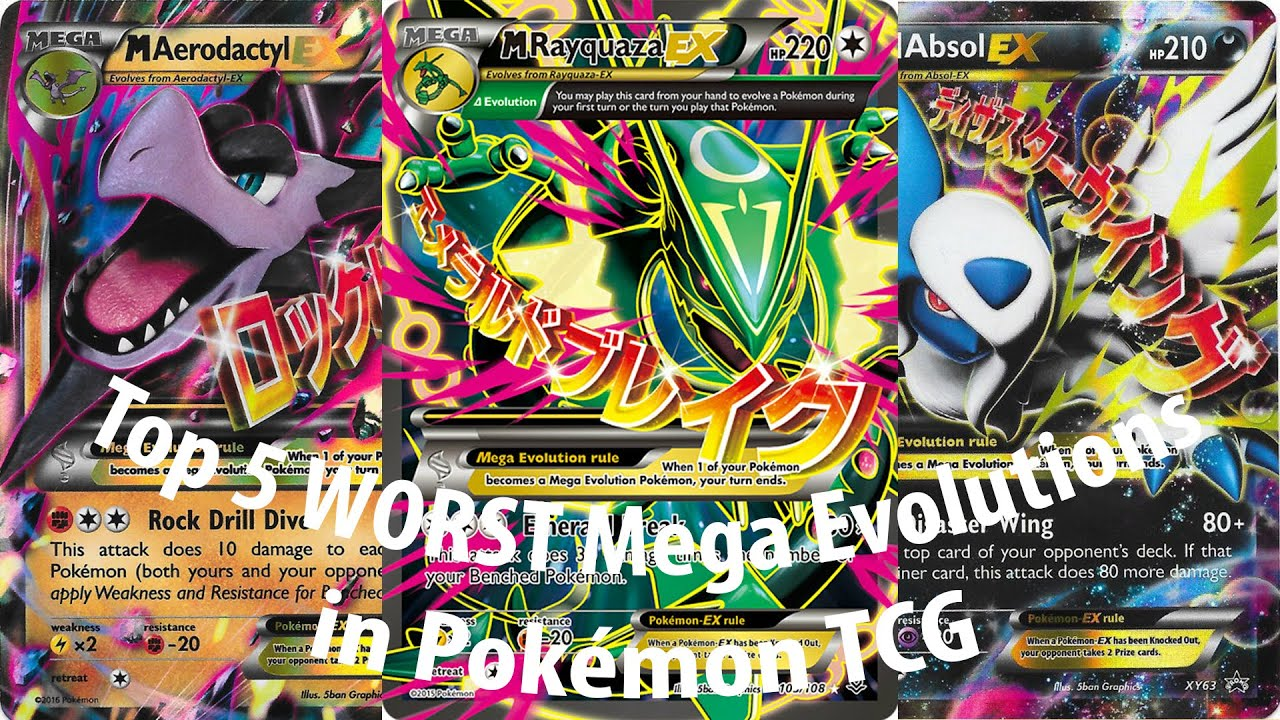 Top 5 Worst Mega Evolu...