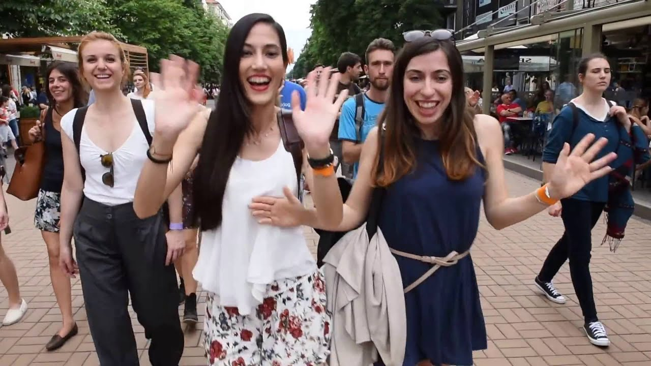 Sofia Swing Dance Festival 2016 - Marching in the Streets of Sofia with Heart of Dixie Band