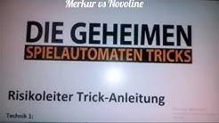 Merkur Magie und  Novoline Tips und Tricks  von einem Buch wo in ebay angeboten wird