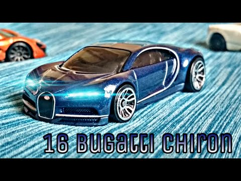Unboxing the new hot wheels 16 Bugatti Chiron