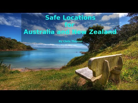 Safe Locations For Australia And New Zealand