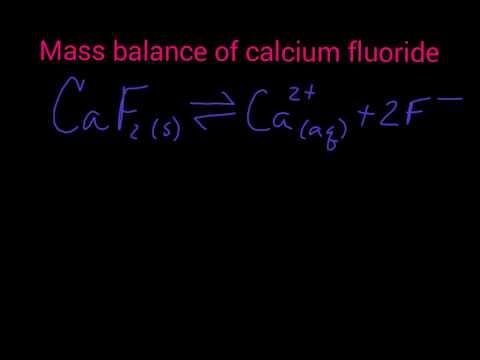Mass balance systematic equilibrium