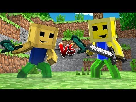 Minecraft - BATALHA DE BEBÊS: ROBLOX SKINS (com WiiFer0iiz)