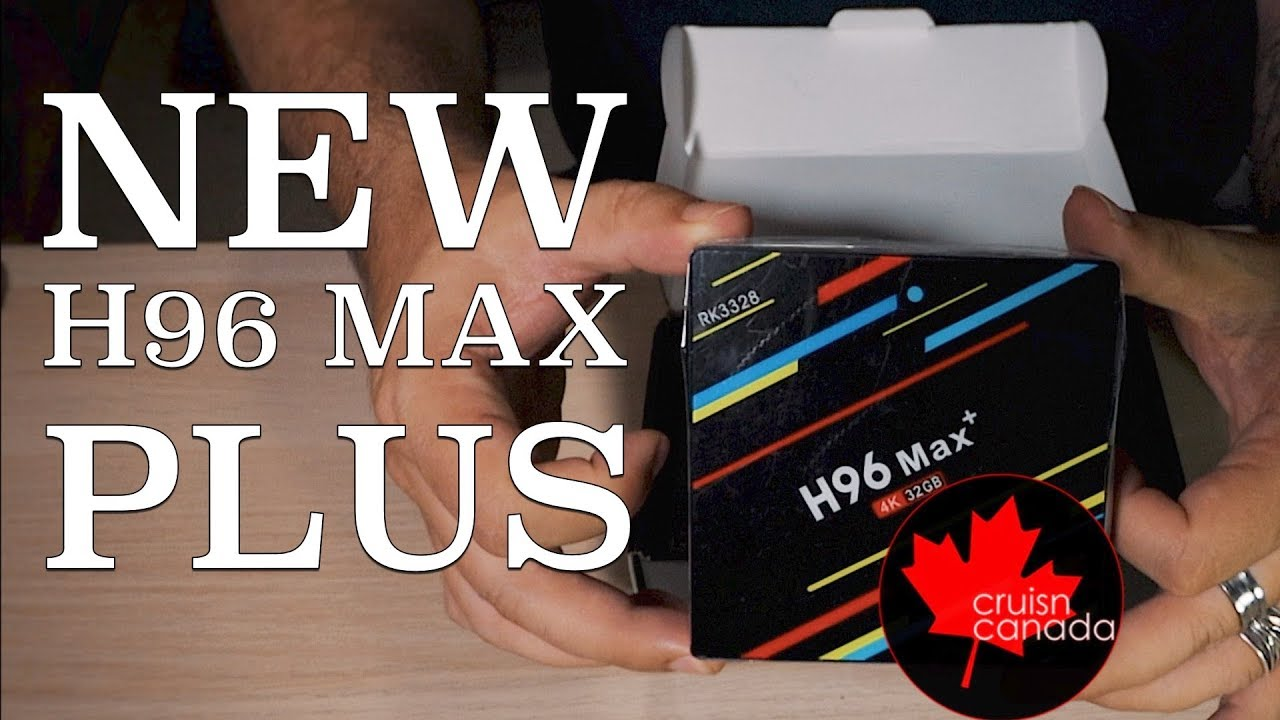 H96 Max Plus RK3328 Android TV box | Unboxing and First Boot