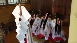 4/3/2016 弥美登里神社 春の例大祭.