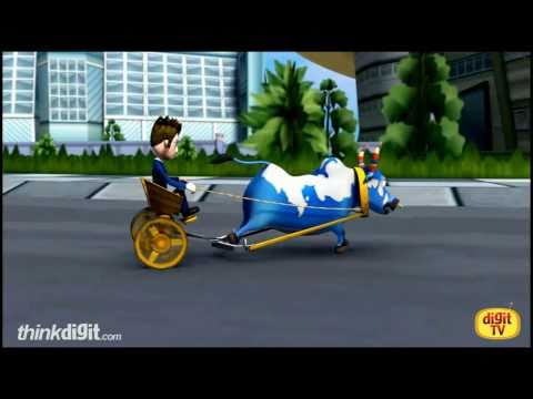 Cart Kings - India Based PS2 Game Featuring Tinkle Characters