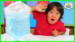 Snow Storm In A Jar | DIY Science Experiment for Kids to do at home!!!