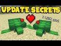 NEW Minecraft 1.13 UPDATE SECRETS - TURTLES, Breeding, Aquatic Features!
