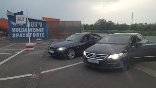 DRAG RACE : PASSAT CC VS BMW E90 320D