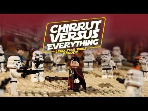 Chirrut vs. Everything - LEGO Star Wars Parody