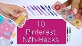 10 Näh-Hacks von Pinterest: was funktioniert wirklich?Nastjas Nähtipps Folge #2