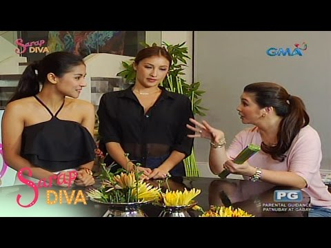 Sarap Diva: Sanya Lopez and Solenn Heussaff talk about their 'Encantadia' experience