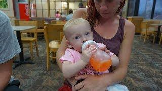 Homeless in Titusville, Florida Amanda Redwine, Baby Carissa and Robert Welch