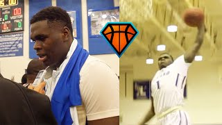 6'5 Jordan Wright Is As TOUGH As They Come!! | High Major Dual-Sport Athlete