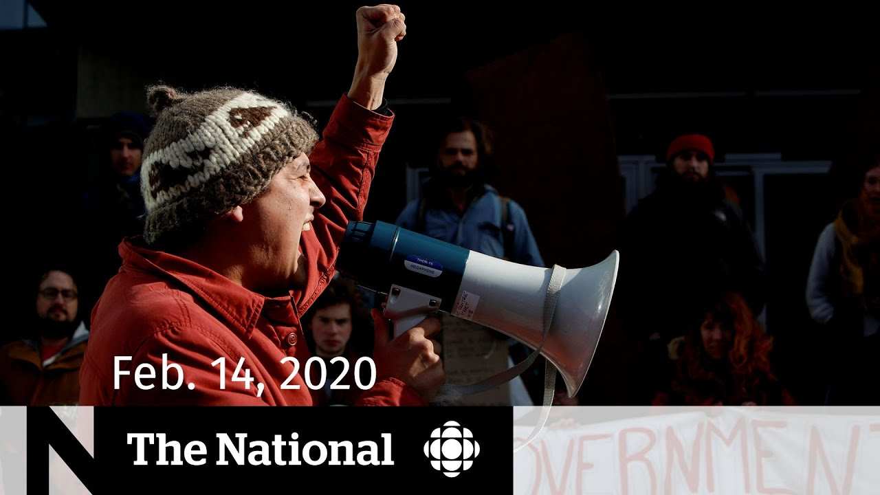 WATCH LIVE: The National for Friday, Feb. 14 — Ottawa split over pipeline protests; CRA call scam