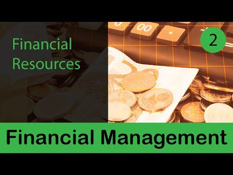 Financial Management | Financial Resources | Uses of Financial Resources | Production | Part 2