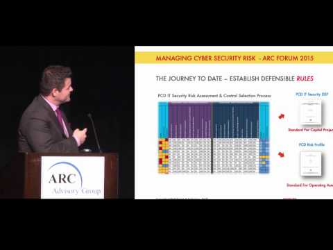 Industrial Cyber Security Risks w/ Shell Global's Tyler Williams @ 2015 ARC Industry Forum Orlando