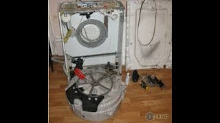правильная замена подшипника на стиральной машине Zanussi Занусси