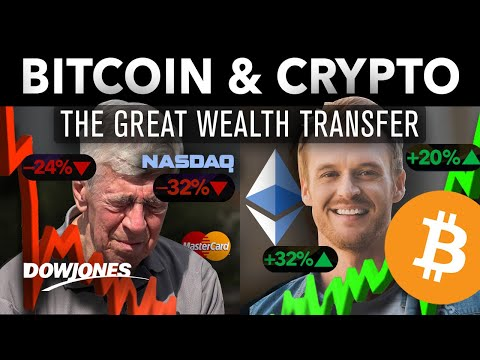"BITCOIN & Crypto Will Bring ""The Great Wealth Transfer"" by 2021!!"