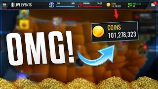 HOW TO MAKE MILLIONS OF COINS IN NBA LIVE MOBILE!!