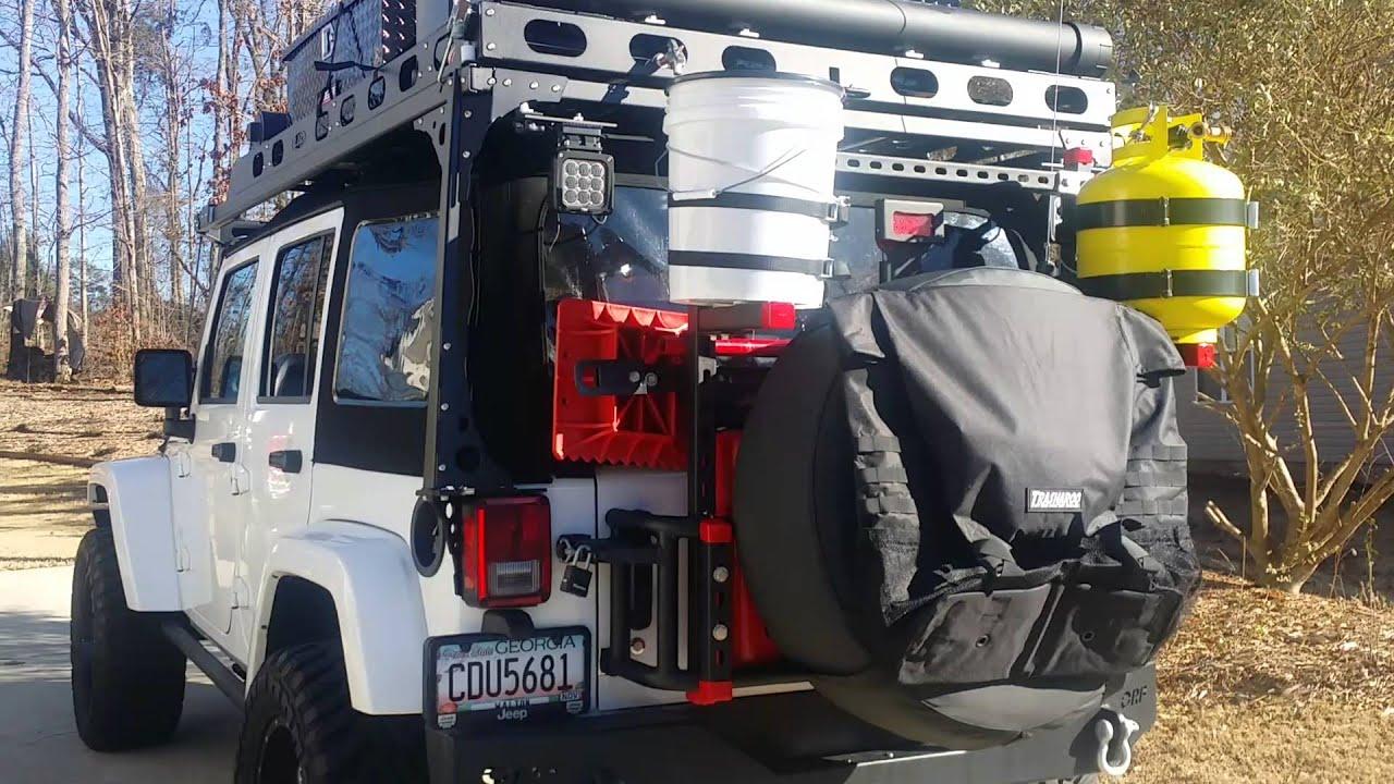 Jeep Overlanding Build Youtube