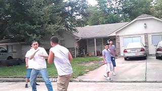Heather glenn fight my boy marcos aka (JR)