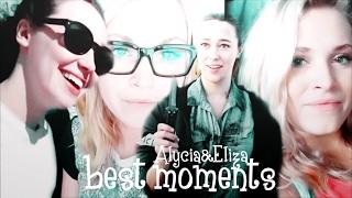 alycia debnam carey eliza taylor funny moments