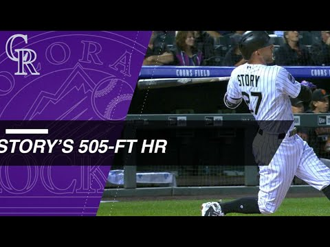 Seattle - Sports - Rockies' Trevor Story Hits Longest Home Run in Statcast Era