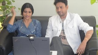 Google hangout with irrfan khan and konkona sen sharma - toi