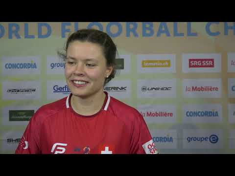 2019 Women's WFC - Interview With Isabelle Gerig (SUI)